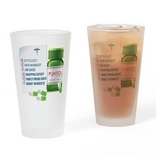 Widespread Disorder Drinking Glass