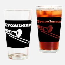 Trombone Drinking Glass