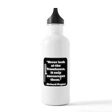 Trombone Wagner quote Water Bottle
