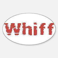 Whiff Sticker (Oval)