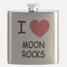 I heart Moon Rocks Flask