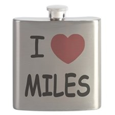 I heart miles Flask