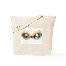 I LOVE LPS! Orange Tote Bag