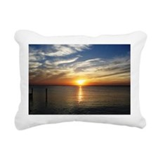 L.B.I. Sunset Rectangular Canvas Pillow