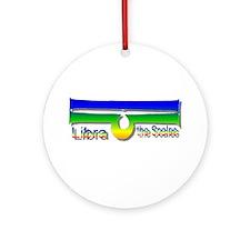 """""""Libra"""" Ornament (Round)"""