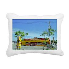 Yellow Cab Rectangular Canvas Pillow