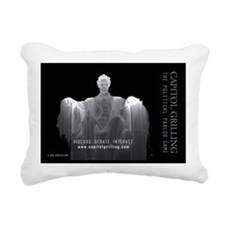 CG Ghost of Lincoln Rectangular Canvas Pillow