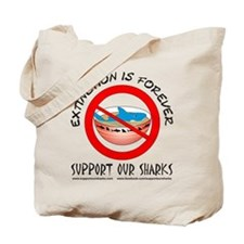 Extinction Is Forever Tote Bag