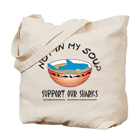 Not In My Soup Tote Bag