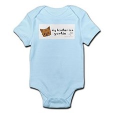 yorkie Infant Bodysuit