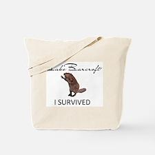 Lake Barcroft - I SURVIVED Tote Bag