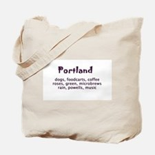 portland Oregon Tote Bag