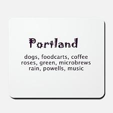 portland Oregon Mousepad
