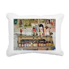 Barbados Rum Shop Rectangular Canvas Pillow