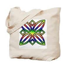 Rainbow Design Tote Bag