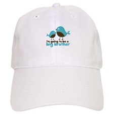 Blue Birds Im going to be a big brother Baseball Cap