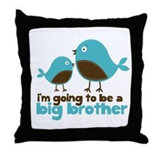 Blue Birds Im going to be a big brother Throw Pill