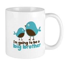 Blue Birds Im going to be a big brother Mug