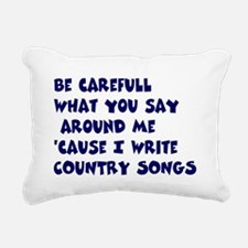 SongwriterWorks Rectangular Canvas Pillow