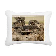 Stryker in Iraq Rectangular Canvas Pillow