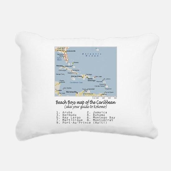 Cute Montserrat Rectangular Canvas Pillow
