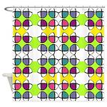 Colorful Beach Balls Shower Curtain