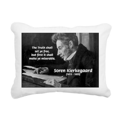 Truth Existentialist Kierkegaard Rectangular Canva