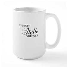 Support - black Mug