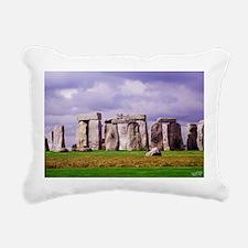 Stonehenge Rectangular Canvas Pillow