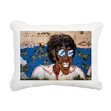 The Money Man Rectangular Canvas Pillow