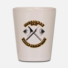 Navy - Rate - SM Shot Glass