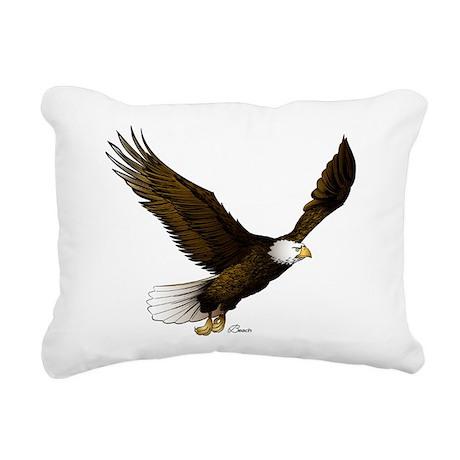 American Eagle Rectangular Canvas Pillow