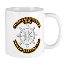 Navy - Rate - QM Mug