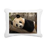 Kids panda Rectangle Canvas Pillows