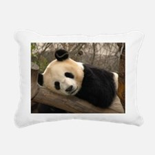 Ginat Panda 2 Rectangular Canvas Pillow