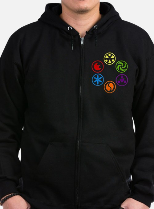 Cute The legend of zelda Zip Hoodie