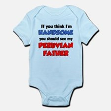 Handsome Peruvian Father Infant Bodysuit