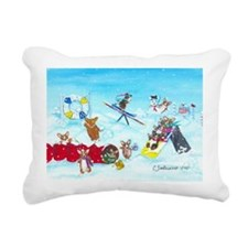 Waiting For The Thaw Rectangular Canvas Pillow