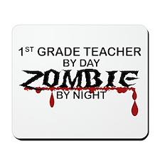 1st Grade Zombie Mousepad