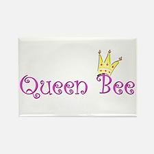 queen Bee crown.png Rectangle Magnet