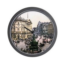 Vintage Piccadilly Circus Wall Clock