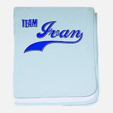 Team Ivan baby blanket