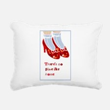 Red Ruby Slippers Rectangular Canvas Pillow
