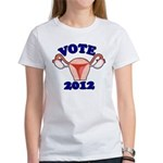 Uterus 2012 Women's T-Shirt