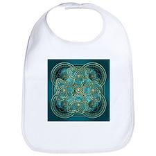 Teal Celtic Tapestry Bib