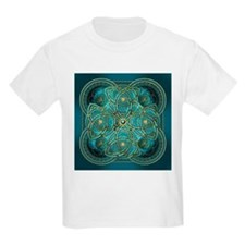 Teal Celtic Tapestry T-Shirt
