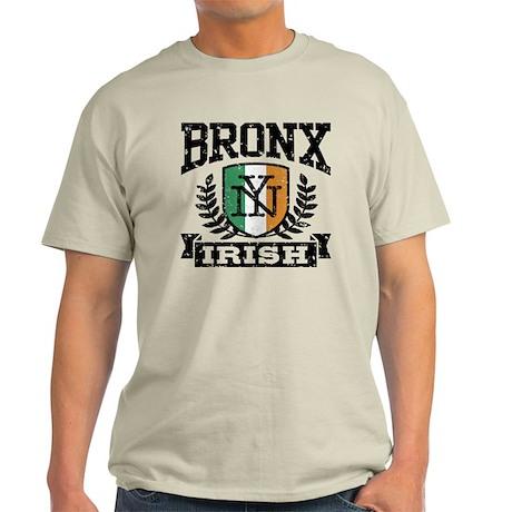 Bronx NY Irish Light T-Shirt