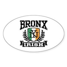 Bronx NY Irish Decal