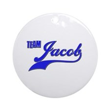 Team Jacob Ornament (Round)
