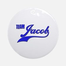 Team Jacob Ornament (Round)